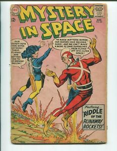 Mystery in Space #85 - Silver Age Infantino Cover - Adam Strange