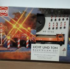 BUSCH 5755  HO / OO gauge electronic - Building site accessories and sounds