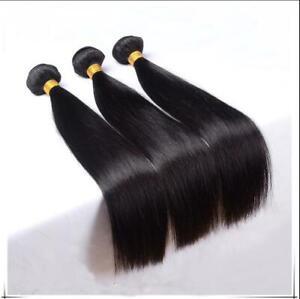 Brazilian Human Hair bundles Straight hair 3pcs/150g 14inches Weave Weft hair