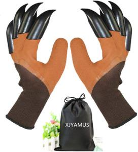 Waterproof Garden Gloves W/Claw For Digging Planting Genie Glove For Women & Men