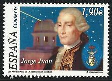 España de 2004 ** post frescos MINR. 3990-Jorge Juan: astrónomo!