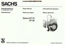 Reparaturanleitung P00 960 008 06 10 000 Sachs Stamo ST 76 96 Motor Ersatzteile