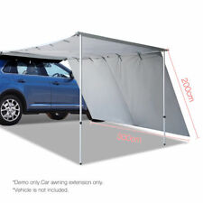 Weisshorn Car Shade Awning Extension 3 X 2m Grey