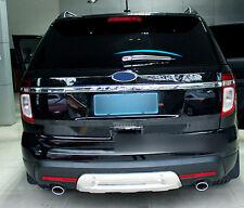 Fit For Ford Explorer 2011-2018 ABS Chrome Rear Rain Wiper Nozzel Cover Trim