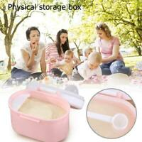 Newborn Baby Milk Powder Container Travel Infant Food Snacks Mini Storage Box