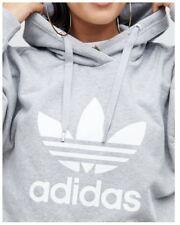 ADIDAS Women's Originals Trefoil PO Pullover Hoodie - Size 12 & 14 - OZ STOCK!