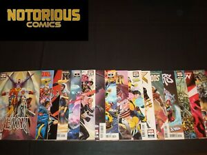 Uncanny X-Men Variant Set 20 Covers Complete Comic Lot Marvel Collection