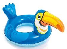 Intex Big Animal Swim Ring Kids Pool Float Tube- Toucan Bird