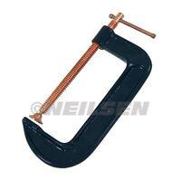 """150mm 6"""" Heavy Duty Steel Frame Reinforced Welding Work G-Clamp"""
