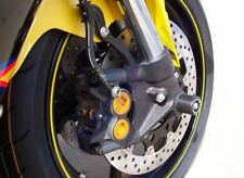 YAMAHA YZF R1 2007 > 2008 FORK PROTECTORS R&G FRONT WHEEL AXLE SLIDERS