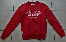 RIVER WOOD Sweat rouge Rhode Island 14 ans