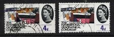 More details for 1964 geographical congress. 4d used with violet shift error.