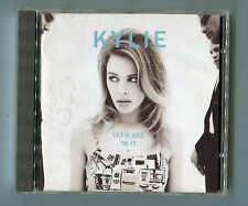 Kylie Minogue cd LET'S GET TO IT ©1991 PWL - UK-10-track-CD - # HFCD 21