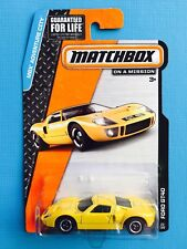 2015 MATCHBOX 1966 FORD GT-40 RACING COUPE - Mint on long card!