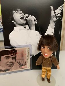 Monkees original 1967 Davy Jones Show Biz  Babies Doll with card and  Live Photo