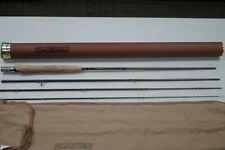 "SAGE SLT 590-4 GRAPHITE IIIe #5 LINE 9'0"" 4PC FLY FISHING ROD IN HARD CASE"