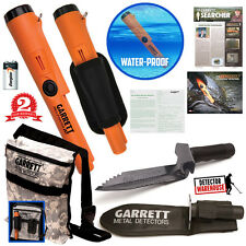 Garrett ProPointer AT Pinpointer Waterproof Metal Detector + Digger + Camo Pouch