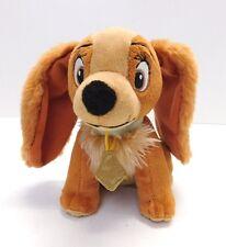"Disney Lady & the Tramp 6.5"" Lady Dog Plush Stuffed Animal Toy Just Play"