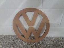 """MDF VW Logo Camper T4 T5 T25 T6 Volkswagen Transporter Campervan Large 400mm 16"""""""