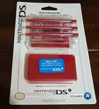 Nintendo DSI Clean And Protect Kit - Red
