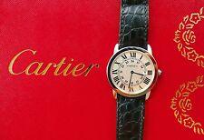 Cartier Ronde Solo 36mm acciaio stravaganti altamente sottili Orologio da polso uomo w6700255