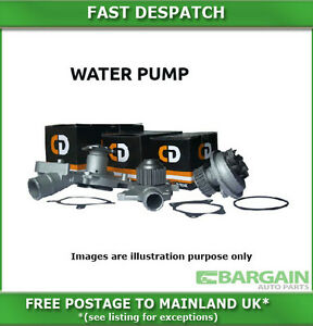 WATER PUMP FOR AUDI A4 1.8I TURBO SPORT 2001-2002 3074CDWP29