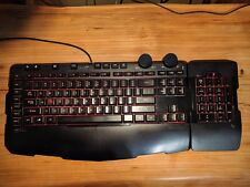 Microsoft SideWinder X6 TKL Gaming Keyboard with detachable Key Pad - Rare