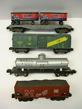 Lot of 4 American Flyer Knuckle Coupler Freight Cars [Lot II10-F18]