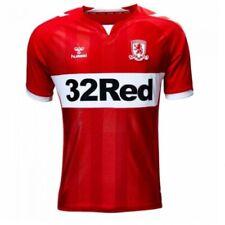 0445a0ec1 Middlesbrough fc Football Shirt Home Top Soccer Jersey 2019 2020 Hummel  LARGE