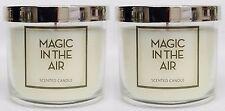 2 Bath & Body Works MAGIC IN THE AIR 1-Wick Medium Jar Candle 4 oz