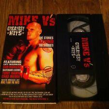 Mike V's Greatest Hits 2003 Skateboard Video Vhs Lots of Fights Bam, Muska, Dunn