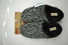 Dearfoams Womens Marled Knit High Vamp Clog Memory Foam Sleep Slippers XL 11-12