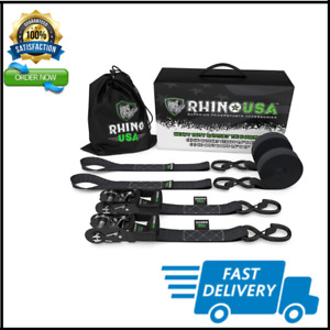 Ratchet Straps Motorcycle Tie Down Kit Heavy Duty Tiedowns Padded Handles New