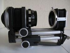 C-Mount Novoflex Macro Bellows for 16mm Cine w/Noflexar 105mm Lens + Slide Copy