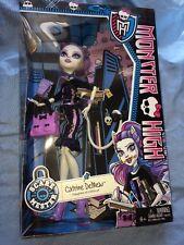Monster High New Scaremester Catrine DeMew Fashion Doll Cat Daughter of Werecat