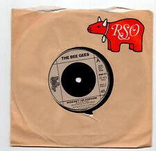 (U135) The Bee Gees, Wouldn't I Be Someone - 1973 - 7 inch vinyl