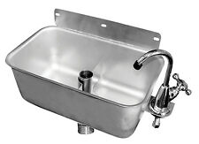 "Dipperwell Ice Cream Drop In Sink 9.5"" x 5.5"" w/ No Lead Faucet Etl Hs-Dsre"