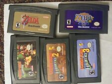 GBA Gameboy Advance Game lot. donkey kong country 1 2 3 zelda link to past & age