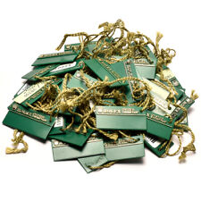 Auth ROLEX Hang tag for OYSTER SWIMPRUF 30 pieces Green Used ip051