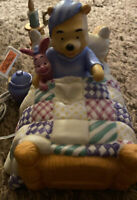 Vintage Disney Winnie the Pooh Ceramic Night Light