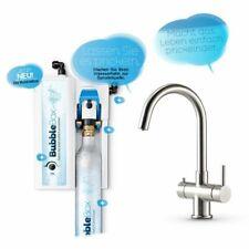 Untertisch-Trinkwassersprudler BubbleBox inkl. 3-Weg-Armatur IMPREZA INOX Hahn