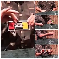 GIFTS - Magic Trick. Rope on Card. Cord Jumps Holes.  (Watch Video)