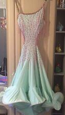 Mint Green Latin Dress