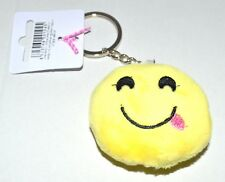 NEW Soft 'tongue out' emoji keyring