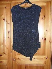 Ladies Sleeveless Top/Tunic  size 12. BNWT. Metallic Mesh Material.