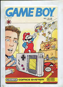 VALIANT GAMEBOY #1 (9.0) VHTF!