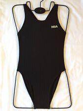 Girls/womens NSA Training Swimming Costume Swimsuit (208black) Many Sizes