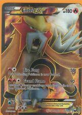 Pokemon Entei EX 103/108 Dark Explorers Full Art Ultra Rare Lightly Played LP