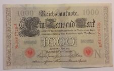 Billet Banknote - Germany - 1000 Reichmark 1910 Superbe