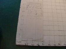 vintage Original BILL: 1905 statement of account for PIPE,